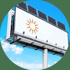 Осветяване на билбордове